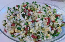 kuskus salata