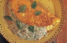 omlet sa pecurkama i kobasicom