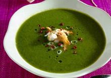 zelena krem supa
