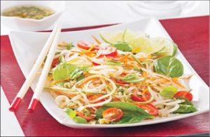 Tajlandska salata - POSNO