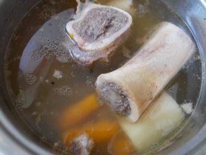 Supa od junećih šupljih kostiju